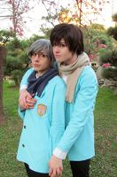 Yukito and Touya by BatesMotel