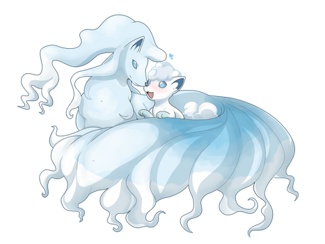 Precious Snow Babes by Phantomania
