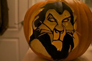 Scar Pumpkin 2 by MichellePrebich