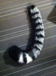 Commission: Silver Tabby Tail by plushabilities