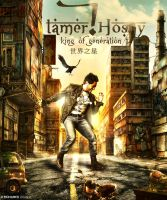 Tamer Hosny In China by MohamedZidanART