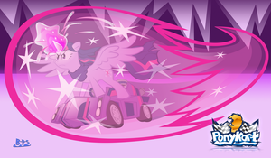 If PonyKart Had All-star Moves - Twilight by Blue-Paint-Sea