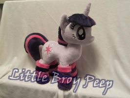 MLP Twilight sparkle Plushie by Little-Broy-Peep