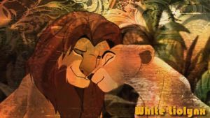 Nala and Simba love forever by WhiteMadness