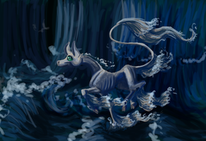 The woods became water by femalefred
