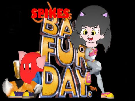 Spike's Bad Fur Day Redone with photshop by Coolpika