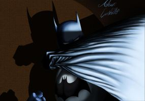 Batman on Spotlight by SWAVE18