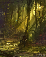 Forest of Vines by HideTheInsanity
