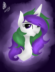 Portrait of my oc by StarLuzBrony