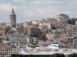 Galata Tower by VapourNZ