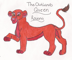 The OutLand Queen Ravana by wasfight17