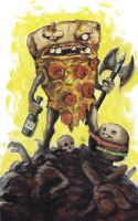 Party Pizza RULZ by KillustrationStudios