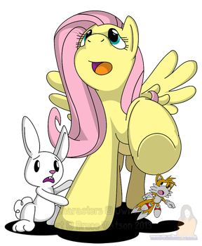 COMMISSION: Flutterstomp by Trowelhands