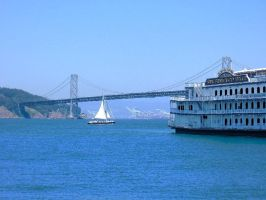 San Francisco Bay Bridge by coleymonkey