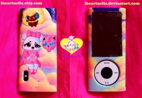 Puffy Sunsets - ipod cover by Iheartnella