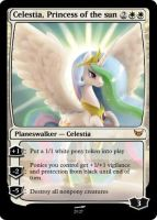 Celestia Princess of the sun by rowcla