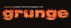 Grunge Text Effect 2 by GraphicIdentity