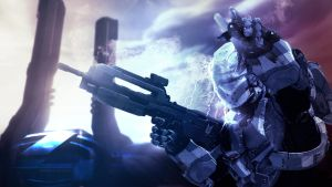 What's Up?   Halo 4 Desktop Wallpaper by Xxplosions