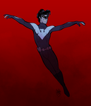 Nightwing by rollingrabbit