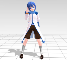 MMD TDA Child Kaito DL by Skary66