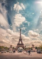 Tour Eiffel by Skevlar