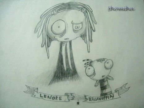 Lenore and Ragamuffin by Shomiha