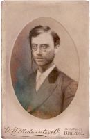 Stephen Merchant Cabinet Card by ALCook
