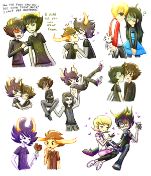 Homestuck_Doodles_3 by Panikari