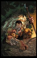 Kraven Print by RossHughes