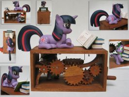 Twilight Sparkle: Reading is Magic by renegadecow