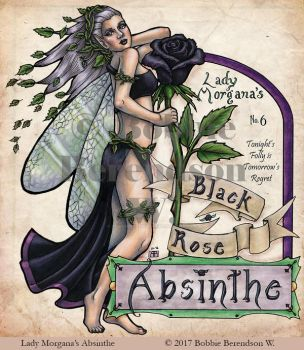 Lady Morgana's Black Rose Absinthe by BobbieBerendson