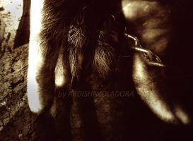 hairy hand by ARDISHAvoladora