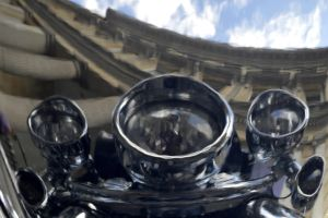 Reflected in Chrome by Clangston
