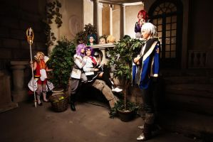 Kamigami no Asobi all together by NoNameCosplayTeam
