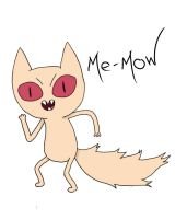 Me-Mow adventure time by SnowberryInc