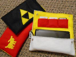 3DS cases~ by theamazingwrabbit