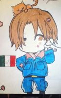 Chibi Italy by MeowImAvery