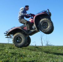 ATV Wheelie by Stephen-Coelho