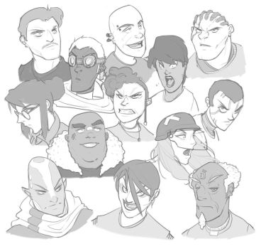 Faces 2 by BrotherBaston
