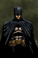 The Batman Colored by likwidlead