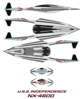 U.S.S.  Independence NX-4600 by bagera3005