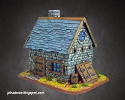 Stone House Front by KorNat