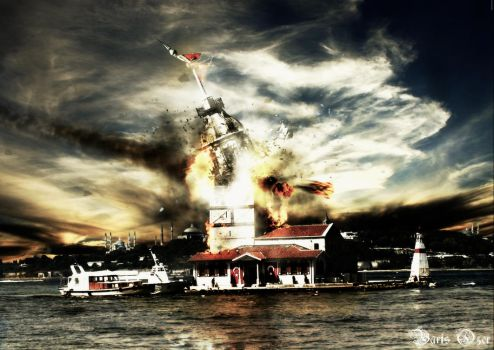 explosion effect by QZER34