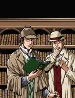 Sherlock Holmes Three Students by Dogsupreme