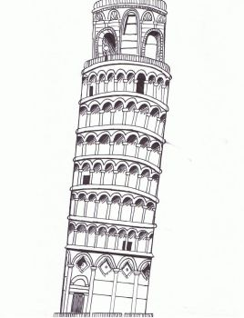 Leaning Tower of Pisa-ish by kitakaoin131