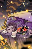 Purgatori #4 Cover by TonyFleecs