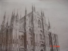 Milan Cathedral by cessie23