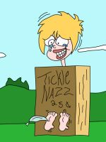 Nazz tickled by Man1D colored by neverb4 by neverb4