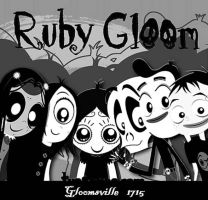 Ruby Gloom Gloomsville by cronot29