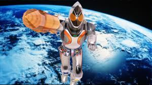 Fourze, the Space Rider by Maddog123greget